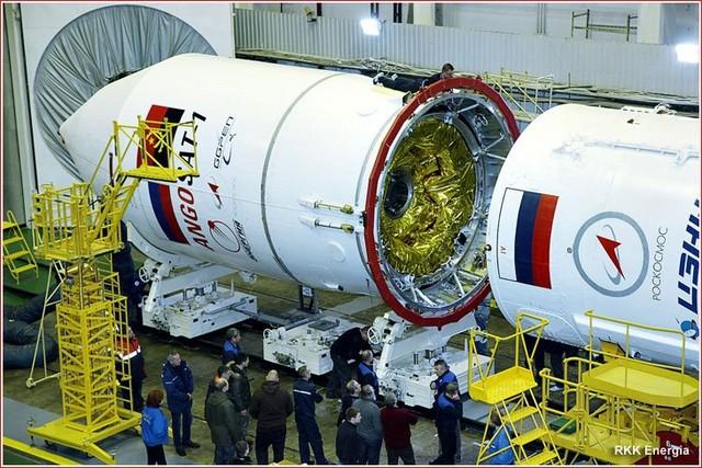 Agência espacial russa perde contato com satélite angolano