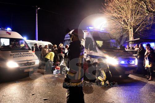 Pelo menos seis vítimas mortais em incêndio em Tondela